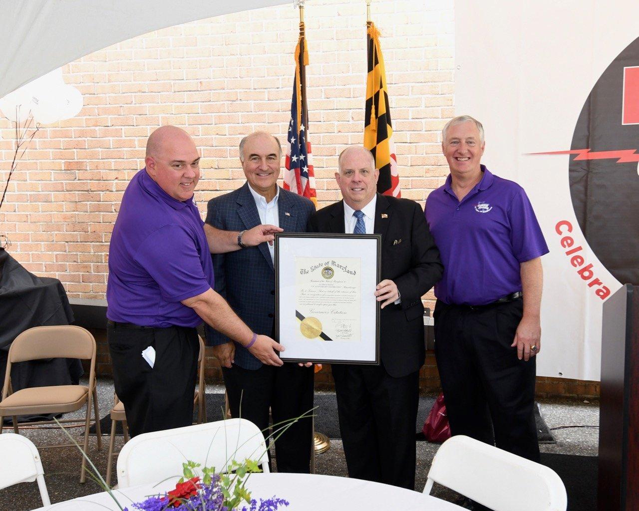 Curtis Receiving Governors Citation 051019